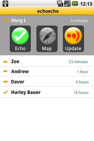 Android echoecho inbox