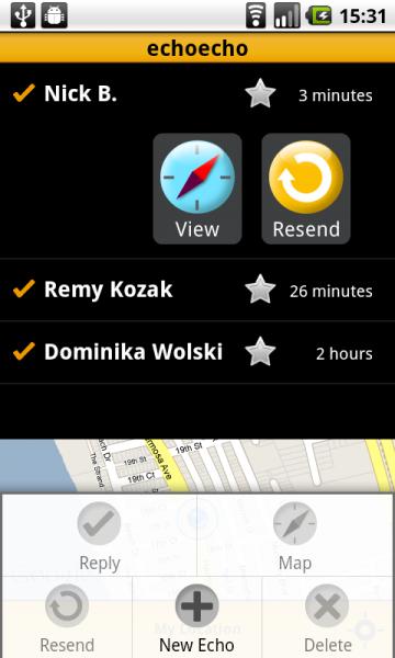 context menu inbox